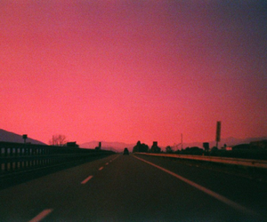 indie, landscape, and pink image