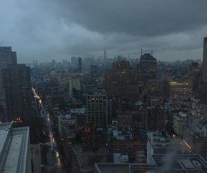 city, grunge, and dark image