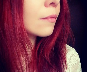 face, red, and woman image