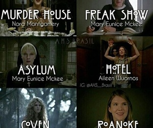 asylum, ahs, and murder house image