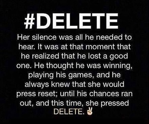delete and quotes image