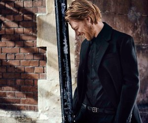 domhnall gleeson, ginger, and handsome image