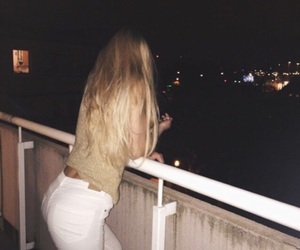 blonde, butt, and girl image