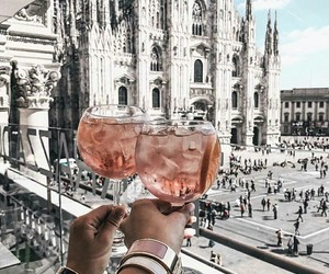 drink, travel, and city image