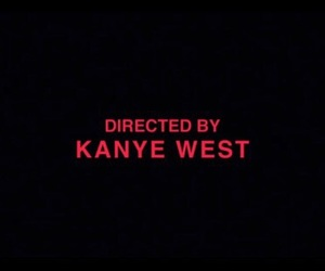 kanye west, red, and tumblr image
