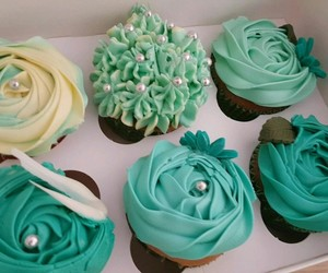 cupcakes, delicious, and food image
