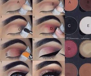 eyeliner, eyeshadow, and makeup tutorial image