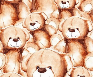 bears, wallpaper, and love image