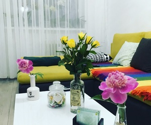 flowers, love, and home image