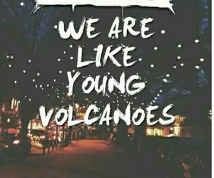 fall out boy, Lyrics, and young volcanoes image