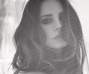lana del rey, black and white, and lanadelrey image