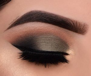 couple, eyes, and makeup image