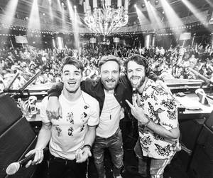 b&w, dj, and the chainsmokers image