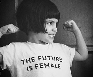 girl, female, and future image
