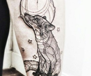 petit prince, tatouage, and renard image