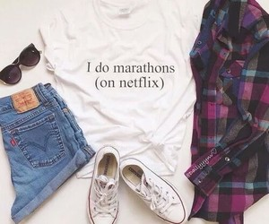 outfits, white converse, and shorts image