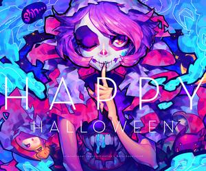 anime and Halloween image