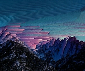 art, mountains, and alternative image