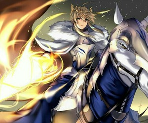 lancer, fate stay night, and fate zero image