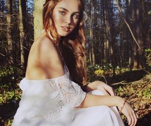 auburn, blue eyes, and fairytale image