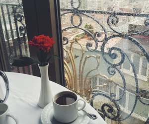 beauty, coffee, and funny image
