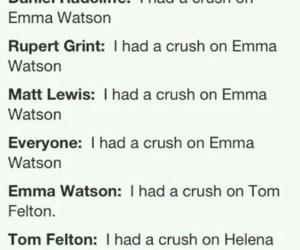 crush, emma, and gryffindor image
