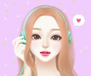 wallpaper, Enakei, and lovely girl image