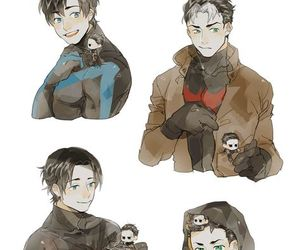 batman, dick grayson, and tim drake image
