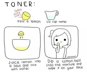 beauty, lemon, and diy image