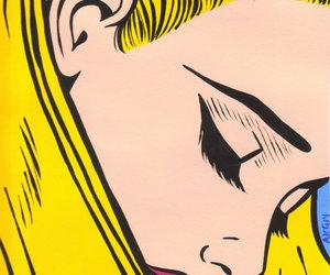 art, comic, and girl image