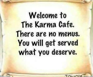 karma, quotes, and life image