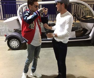 liam payne, niall horan, and one direction image