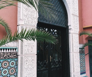 door, entrance, and marrakech image