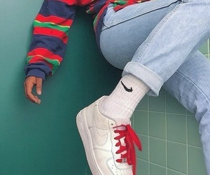 90s, fashion, and nike image
