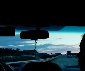 blue, dark, and Road Trip image