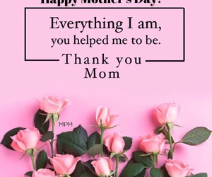 flowers, mother's day, and roses image
