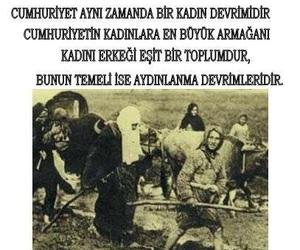 turkey, atatürk, and kadın image