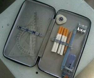 cigarette and school image