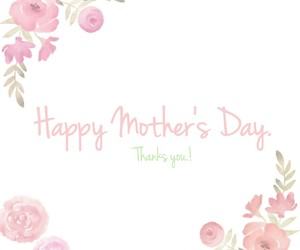 congratulations, flower, and mother image
