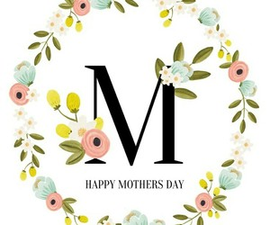 mother and happy mother's day image