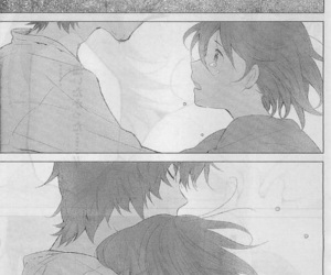 love, manga, and wolf children image