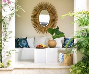 interior design, pool, and summer image