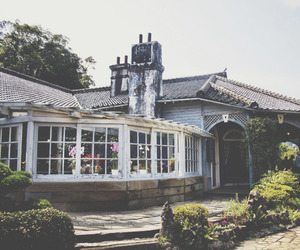 architecture, house, and sun room image