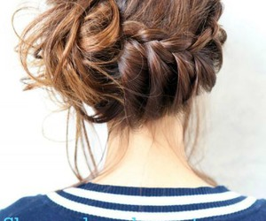 beauty, braid, and cover image
