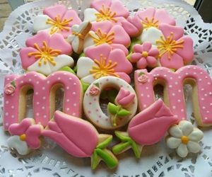Cookies, mother's day, and sweet image