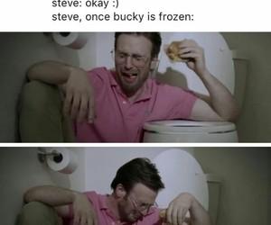 Marvel, steve rogers, and bucky barnes image
