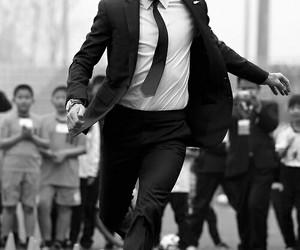 David Beckham, football, and soccer image
