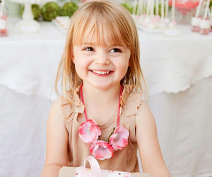child, gift, and smile image