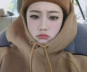 korean, girl, and ulzzang image