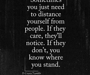 quotes, distance, and people image